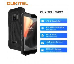 OUKITEL WP12 5,5 Zoll Dual SIM IP68 IP69K Smartphone 4G RAM 32G ROM