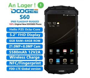 DOOGEE S60 Smartphone Helio P25 Octa Core 5,2 zoll 6 GB + 64 GB