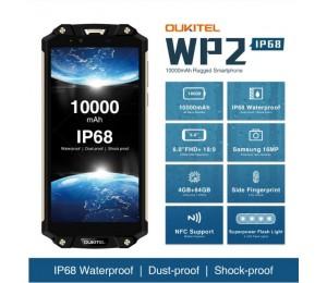 OUKITEL WP2 Smartphone MTK6750T Octa Core 6,0 zoll 4 GB + 64 GB Farbe Gold
