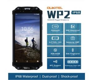OUKITEL WP2 Smartphone MTK6750T Octa Core 6,0 zoll 4 GB + 64 GB Farbe Schwarz