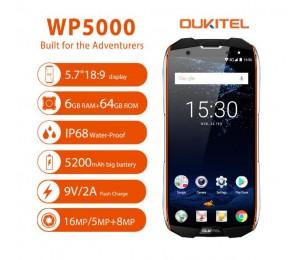 OUKITEL WP5000 Smartphone Helio P25 MTK6757 5,7 Zoll 6 GB + 64 GB