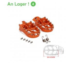 Motorrad CNC Fußrasten Pedale Fußstützen Für KTM SX SXF EXC EXCF XCF XCW XCFW 65 85 125 150 250 300 350 400 450 530 ADVENTURE