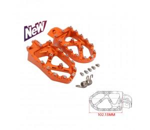 Neu Motorrad CNC Fußrasten Pedale Fußstützen Für KTM SX SXF EXC EXCF XCF XCW XCFW 65 85 125 150 250 300 350 400 450 530 ADVENTURE