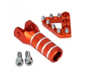 Schalthebel für hinteres Bremspedal Trittplattenschalttipps für KTM EXC EXCF XC XCF XCW XCFW SX SXF MX 125 250 350 530 SMC 690 950 990