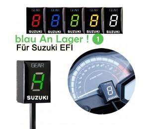 Motorrad 1-6 Level LED Geschwindigkeitsanzeige Anzeige ECU Stecker für Suzuki Intruder 800 V-Strom GSX r1000r R600 750 SV 650 KATANA