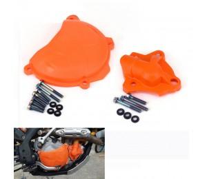 Motorrad Kupplungsschutz Wasserpumpenabdeckung Schutz für KTM SXF EXC XCF XCF SX-F EXC-F XC-F XCF-W 250 FREERIDE 350 2014 2015