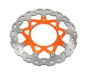 Motorrad 320MM schwimmender Bremsscheiben rotor vorne Für KTM EXC GS EXCF SX SXF SXS XC XCR XCW XCF XCRF MXC MX SMR SIX DAYS Supermoto