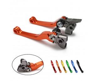 Motorrad 2020 CNC Kupplungs Bremshebel Für KTM EXC EXCF SECHS TAGE EXCR XC XCF XCW XCFW SX SXF 125 144 150 200 250 300 350 450 500