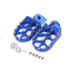 Motorrad CNC Fußrasten Auflagen Pedale Für YAMAHA YZ 65 85 125 250 YZ250F YZ426F YZ450F YZ125X YZ250X WR250F WR400F WR426F WR450F