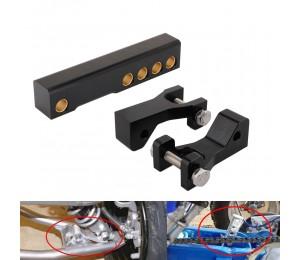 Motorrad ATV Vorderrad Absenkkit Adapter einstellbar für YAMAHA Banshee 350 YFZ350 1987-2008 Warrior 350 YFM350X 1987-2004