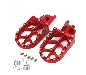 Motorrad CNC FootRest Fußrasten Pedale Für HONDA CR125 CR250 CRF150R CRF250R CRF250X CRF450R CRF450X CRF250L CRF250M