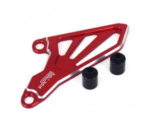 Motorrad Billet CNC Front Kettenrad Antriebsabdeckung Schutz Für HONDA CR 250 R 02-07 CRF250R 04-09 CRF250X 04-17 CRF450R 08 YZ125 05-20 YZ125X 20