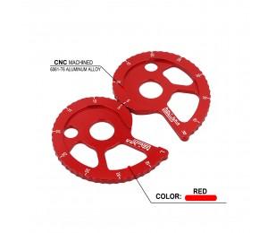 Motorrad Kettenführung Einstellregler Für HONDA CRF150F CRF230F CRF230L CRM250 AR XLR250R XR250R XR250L XR400R XR600R