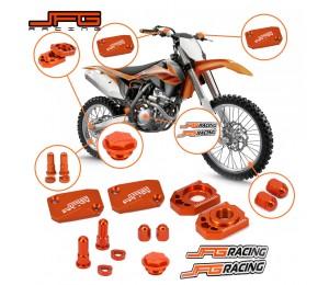Motorrad CNC Bremse Kupplung Flüssigkeit Reservoir Abdeckung Set Für KTM SX SXF XC XCF XCW XCFW EXC EXCF 125 150 250 300 350 400 450 530