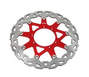 320MM Oversize Vorne Schwimm Bremsscheibe Rotor Für HONDA CR CRF CR125 CR250 CRF250R CRF250X CRF450X CRF450R CRF230F Enduro