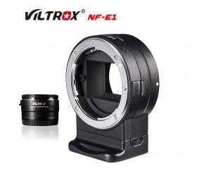 VILTROX NF-E1 Objektiv Adapter Ring Autofokus Objektiv Adapter Blende Control für Nikon Objektiv F zu Sony E mount A7SI a7II A7II Kamera