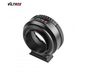 Viltrox NF-FX1 Adapter Manueller Fokuslinsenadapter für Nikon G & D Mount-Objektive für Fujifilm X-Mount-Kamera X-T2 X-T3 X-T20 X-T10 X-E3 X-A3