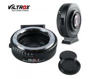 Viltrox NF-M43X Focal Reducer Speed Booster Objektiv Adapter Turbo Blende für Nikon Objektiv zu M4/3 Kamera GH4 GH5 GH85 GF7 GX7