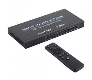 NK-C941 HDMI Splitter Switch Adapter 4x1 Full HD 1080p Remote Control IR