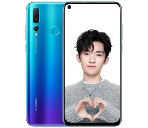 Huawei Nova 4 Smartphone Kirin 970 6.4 Zoll 20MP+16MP+2MP Drei Rückkameras 8GB + 128GB
