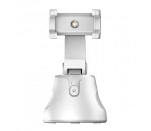 Apia Genie 360 ° Intelligenter Selfie-Stick CNSL mit automatischer Tracking-Halterung 360 ° Drehung Automatische Gesichts- und Objektverfolgung Intelligente Aufnahme Kamerahandyhalter