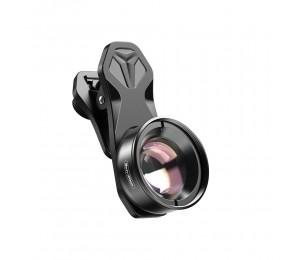 APEXEL APL-HB100mm Universal-Smartphone-Makroobjektiv 4K HD-Telefonkameraobjektiv ohne Verzerrung Unscharfer Hintergrund Kompatibel mit iPhone 11 / XS / XS Max / XR / X / 8/8 Plus