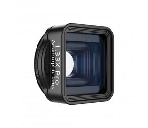 ulanzi 1.33X Pro Anamorphes Objektiv Telefonkameraobjektiv für Filmemachen Kompatibel mit iPhone 11 Pro Max Samsung Huawei Smartphones, 17mm Gewinde