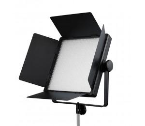 Godox LED1000D II LED-Videolicht Dimmbare weiße Farbe 5600K CRI96 TLCI98 mit LCD-Display Fernbedienung Scheunentore Weiß Gelb Grün Diffusionsfilter