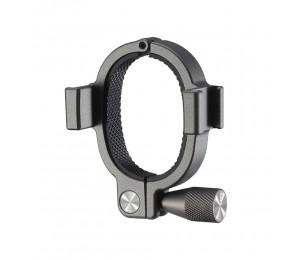 UURig R037 Ringstiftadapter für die Smartphone Stabilisator Verlängerungshalterung mit zwei Kaltschuhhalterungen