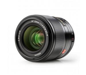 VILTROX AF33 / 1.4 XF 33 mm F1.4 Autofokus-Kameraobjektiv mit großer Blende