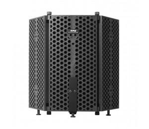 Aufnahmemikrofon Windschutzplatte Schallabsorbierende Abdeckung Mikrofon Schallschutzwand Schallschutzplatte