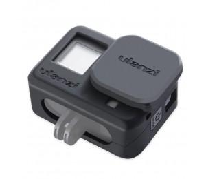 Ulanzi G8-3 Schutzhülle für die weiche Silikon Kamera mit Kamera Objektivkappe Droproof Vlogging Case Cage Kit Kompatibel mit GoPro Hero 8 Black