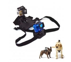 Hundebrustgurte Sportkamera Feste Gurte Verstellbare Gurte Kameragurte Kamerazubehör Kompatibel mit gopro hero7 6 5 4 3 2 1