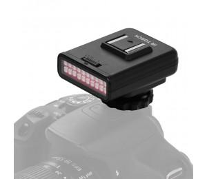 ORDRO LN-3 Studio IR LED-Licht USB wiederaufladbarer Infrarot-Nachtsicht-Infrarot-Illuminator für DSLR-Kamera Fotografie Beleuchtungszubehör