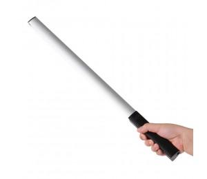 LUXCEO Handheld Photography Light Tragbare LED-Videoleuchte Stab 3000K / 5750K / RGB Farbe 12 Helligkeitsstufen Bunter Stab