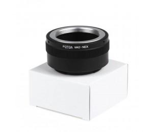 Fotga M42-Adapterring für Sony NEX E-Mount NEX3 NEX NEX5n NEX5t A7 A6000
