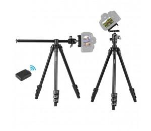 Q160H Tragbares Kamerastativ Horizontal montiertes professionelles Reisestativ