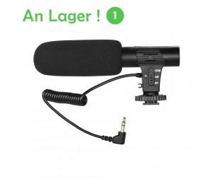 Kamera-Video-Aufnahmemikrofon Super-Cardioid Pickup