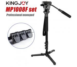 Kingjoy MP1008F Set Professionelle Einbeinstativ Set Dslr Für Alle Modelle Kamera Stativ