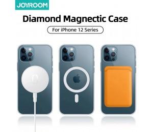 Joyroom Klar Magnetic Telefon Fall Für iPhone 12 Pro Max 12 Mini