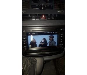 2din Android 8.0 Octa-core 4 GB RAM 32GB Car DVD GPS Für Mercedes/Benz C-klasse W203 2004-2007 C200 C230 C240 C320 C350 CLK W209 04