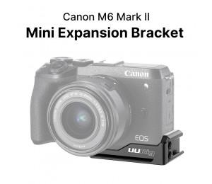 Ulanzi UURig R057 Verlängern Kalten Schuh Platte Halterung für Canon M6 Mark II Stativ Taste Platte Montieren Vlog Basis Platte für Mikrofon