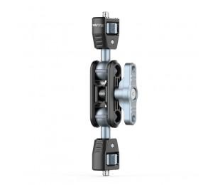 UURig R061 Magic Arm Mit Dual 1/4'' Schraube Stativ Montieren Monitor Stand Füllen Licht Mikrofon Halterung Kugelkopf Gimbal Zubehör