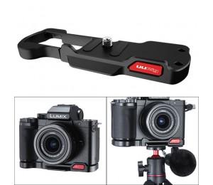 UURig R064 für Panasonic G100 Lumix G100 Basis Platte Montieren mit Kalten Schuh für Mikrofon Led Licht Vertikale Schießen Halterung