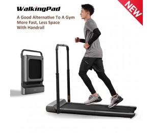WalkingPad R1 Pro Laufband Faltbare Aufrecht Lagerung Rennen Gehen 2in1 APP Control Mit Handlauf Hause Cardio Workout
