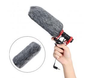 SAIREN A1 Winddicht Pullover Für Q3/Gottheit D3 Pro/Ritt Interview Mikrofon Pelz Abdeckung Winddicht Pullover Kamera Im Freien mic abdeckung