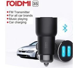 Xiaomi Roidmi 3S Car Bluetooth FMTransmitter Auto Schnellladegerät USB Universel