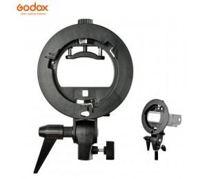 Godox S-Type Langlebig kunststoff Halterung Bowens Halterung für Speedlite Flash Snoot Softbox Foto Studio Zubehör
