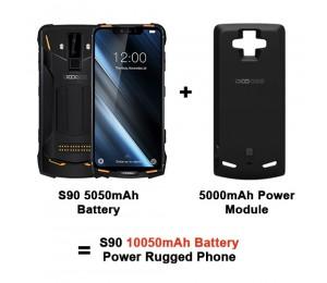 DOOGEE S90 Smartphone Helio P60 MTK6771 6,18 zoll 6 GB + 128 GB + 5000mAh Power Module
