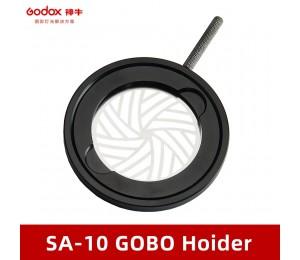 Godox SA-10 Filterhalter-Set für Godox S30 Fokus-LED-Leuchte.